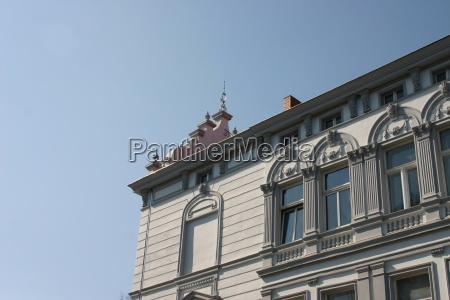 casa construcao quadrado hansestadt palma mecklenburgvorpommern