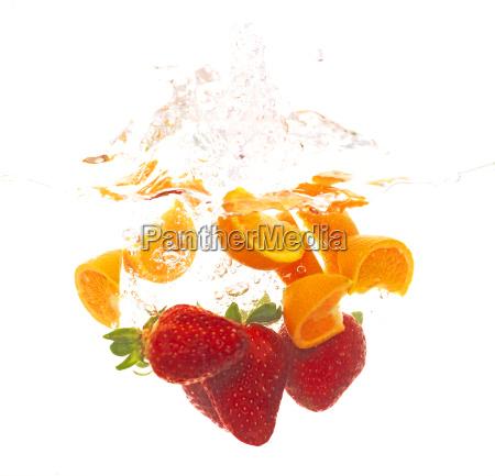 fruta que cae