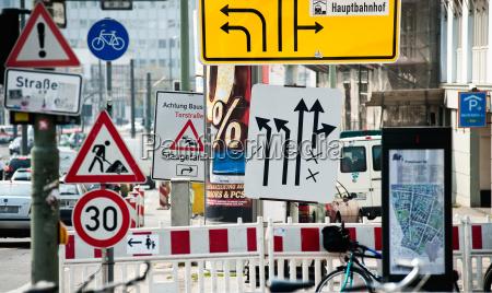 las senyales de trafico