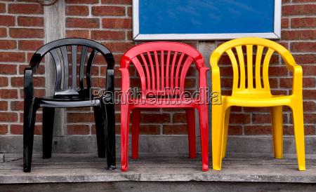 negro sillas color los colores nacionales