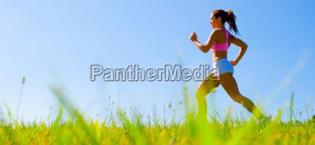 atletico de la mujer ejercicio