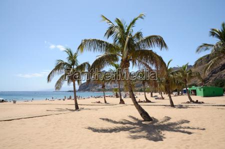 playa de las teresitas tenerife espanya