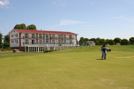 verde golfo campo de golf golfista