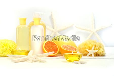 productos de spa orange