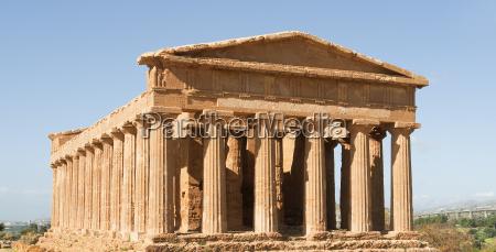 el templo de concordia en sicilia