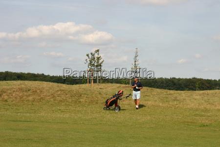 golfpark strelasundlos golfistas mal camino