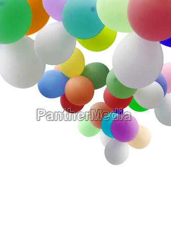 globos con espacio de copia