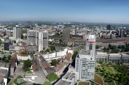 panorama de la ciudad de essen