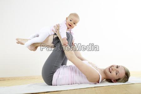 mama y del bebe de la