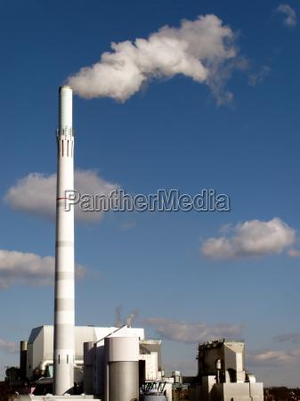 humo fumar industria central electrica planta