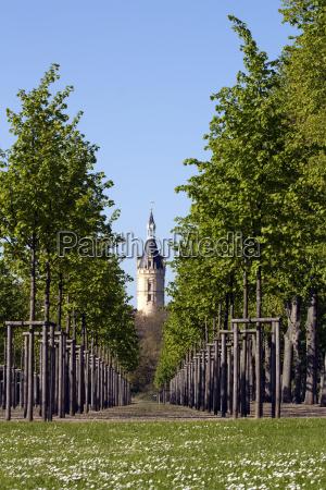 torre del castillo de schwerin a