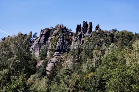 caminata rocas rock ver cuesta arriba