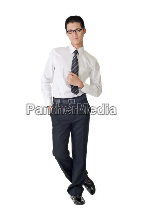 smart young businessman
