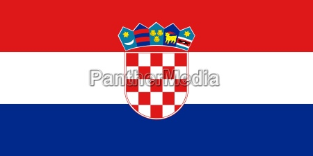 the national flag of croatia