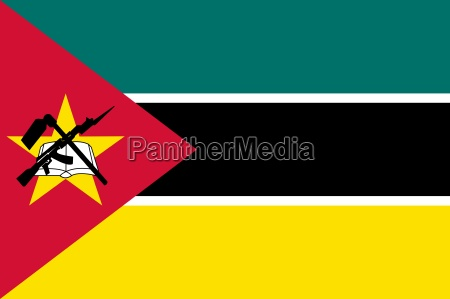 the national flag of mozambique
