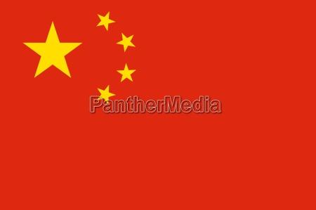 ilustracion bandera china chino estado pais
