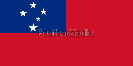 the national flag of samoa