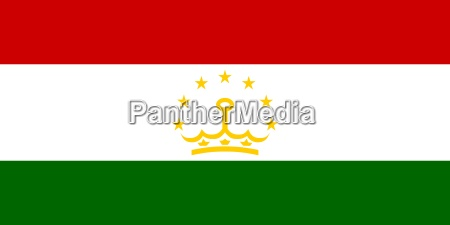 the national flag of tajikistan
