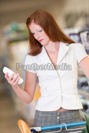 shopping hermosa mujer champu de retencion