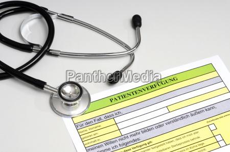 el orden del paciente