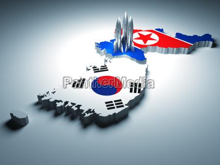 sur ataque norte corea cohete lugar