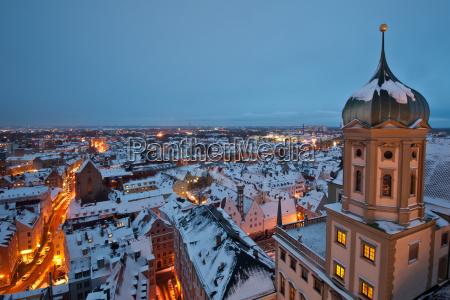 augsburgo techos en adviento