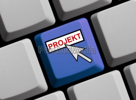 teclado agencia orden red trabajo mano