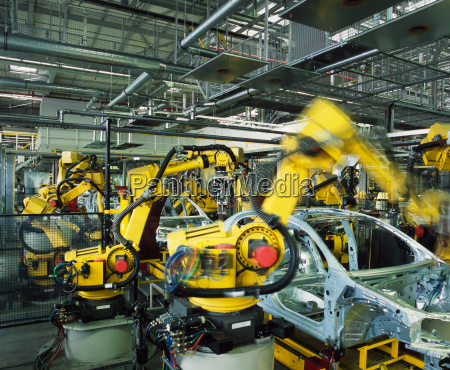 linea de produccion de automoviles