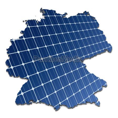 celulas solares monocristalinas en una correspondencia