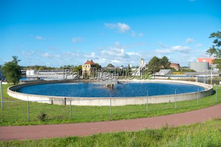 bassin tratamiento de aguas residuales