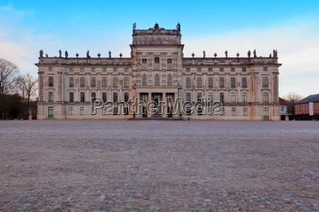 barroco europa romantico alemania mecklemburgo castillo