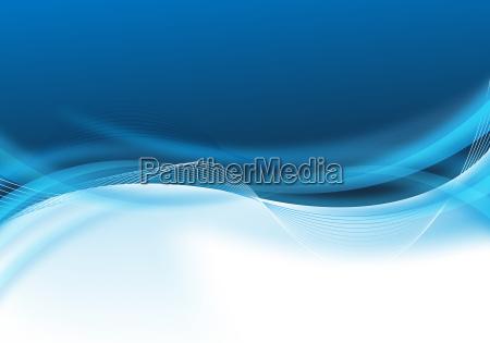disenyo de negocio azul abstracto