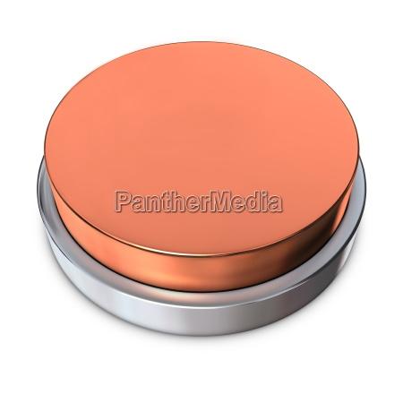 boton redondo de bronce con anillo