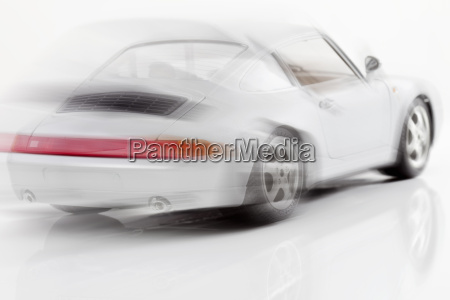 racer in traffic