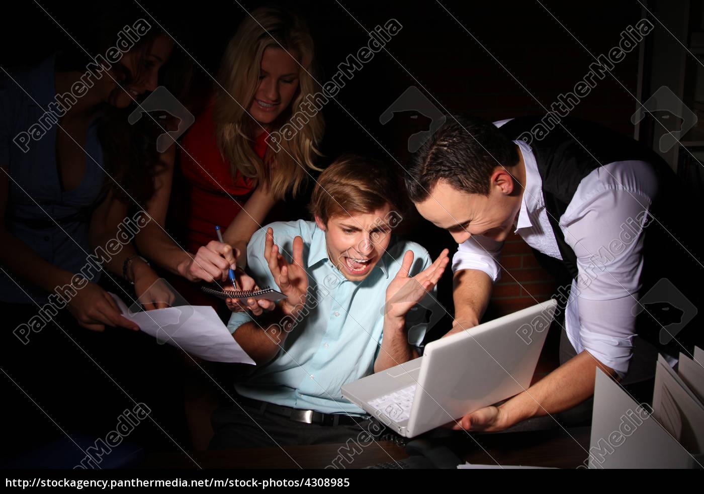 mujer, telefono, oficina, portatil, computadoras, computadora - 4308985