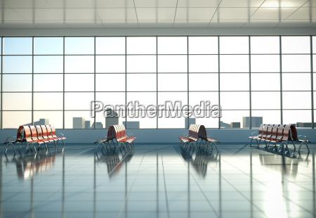 esperar espera moderno interior sillas area