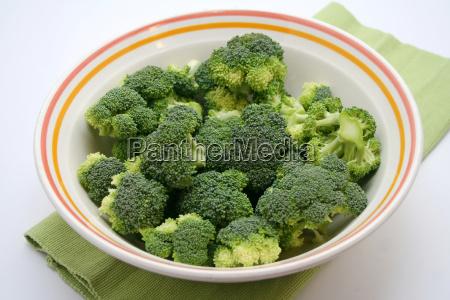 vegetal col vegetariano brocoli fresco