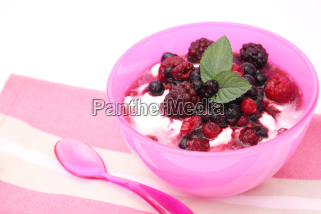 frutas fruta cuajada dulce de leche