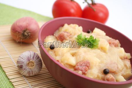 guiso de sauerkraut