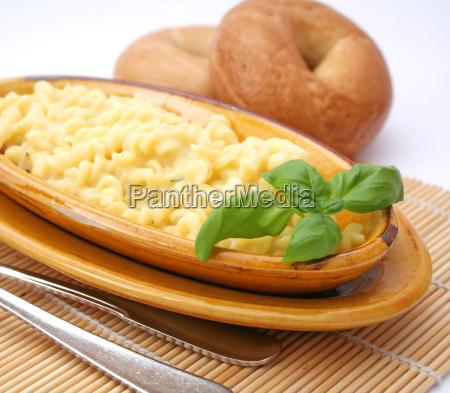la pasta de queso