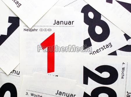 new year 1 january