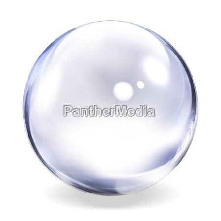 esfera transparente