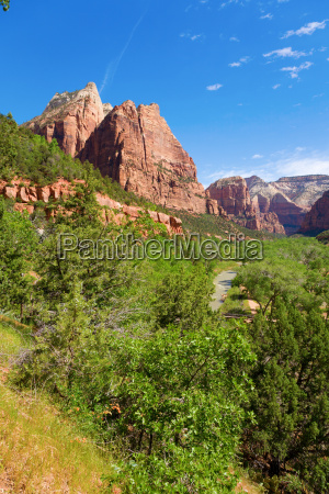 parque canyon escenico montanya al aire
