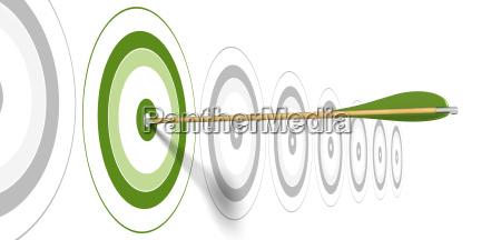 banner de marketing verde