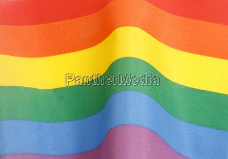 lucha bandera arco iris paz igualdad