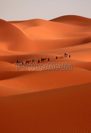 desierto duna marruecos sahara karavane erg