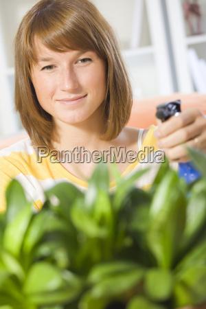plantas, de, riego, de, mujeres - 5148667