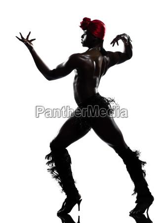 hombre del baile del bailarin