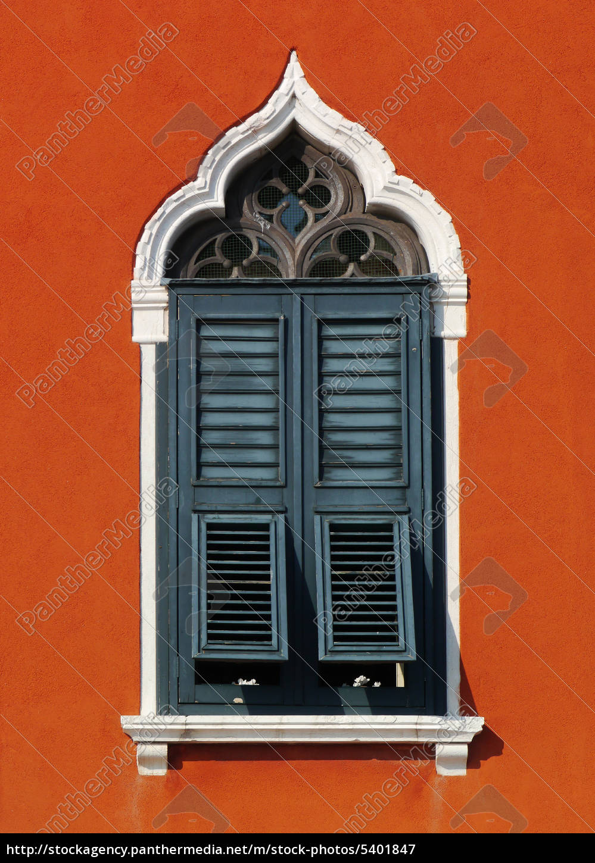 fenster, in, venedig - 5401847