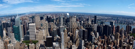 rascacielos ver horizonte nueva york
